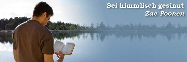 Sei himmlisch gesinnt