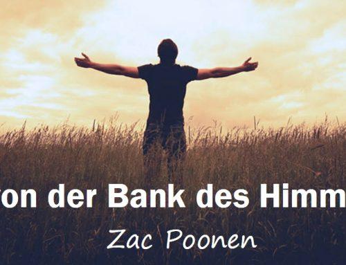 Hebe von der Bank des Himmels ab